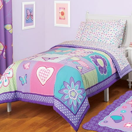 American Kids Butterfly Twin/Full Reversible Comforter