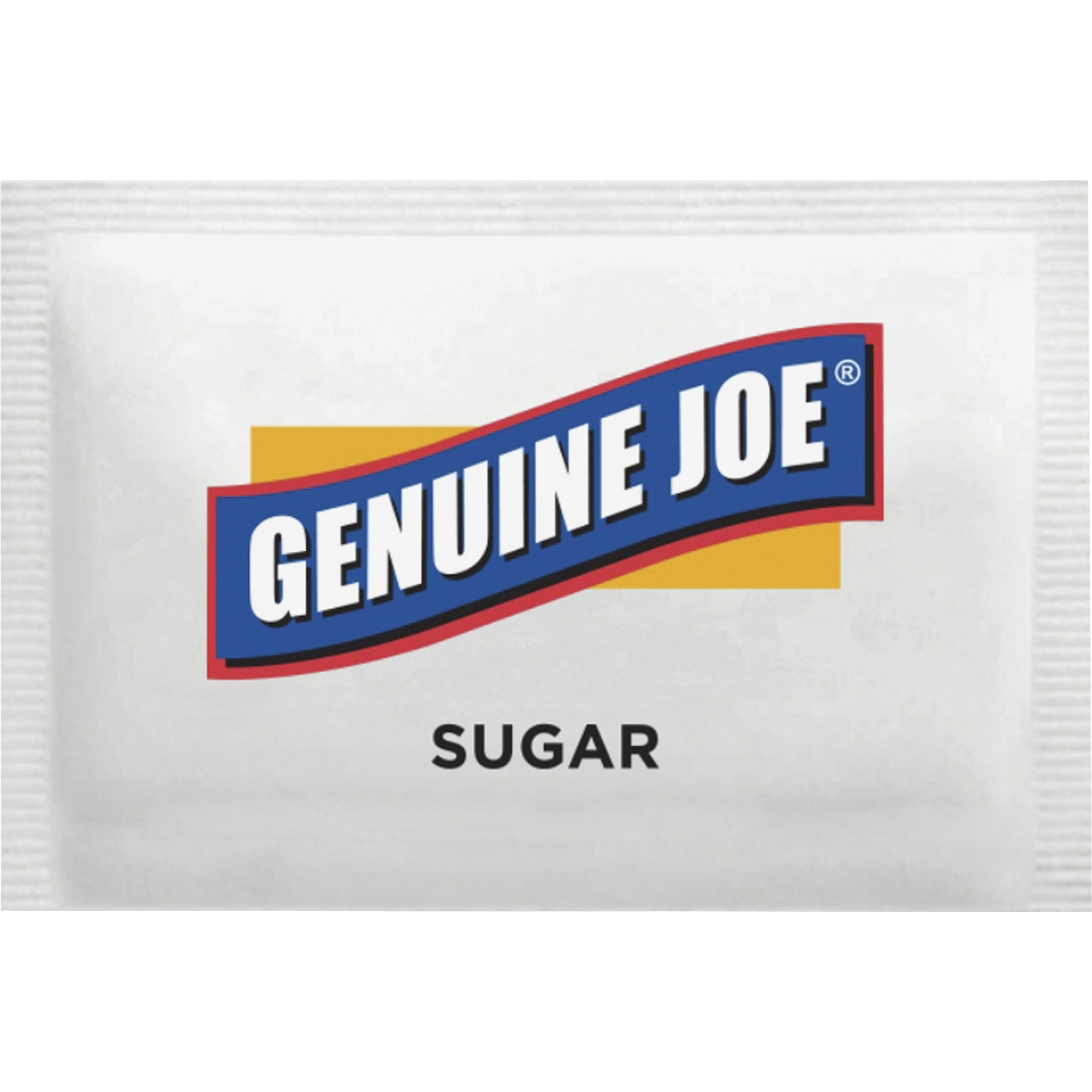 Genuine Joe Sugar Packets, 0.1 oz, 1200/Box, GJO02390