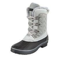 Northside Womens Modesto Waterproof Insulated Quilted Mid Winter Snow Boot
