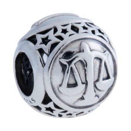 - Authentic PANDORA 791942 Libra Star SIgn Charm