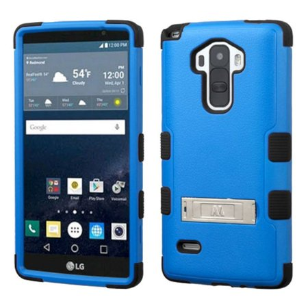 Nest Rubber Coated Case (Insten Hard Dual Layer Rubber Coated Silicone Cover Case For LG G Stylo case cover)