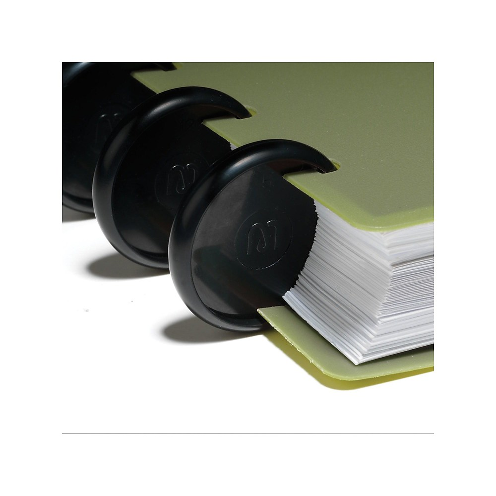 """Details about  /Staples Arc System 1/"""" Notebook Expansion Discs Gold  Aluminum 50057  New In Pack"""