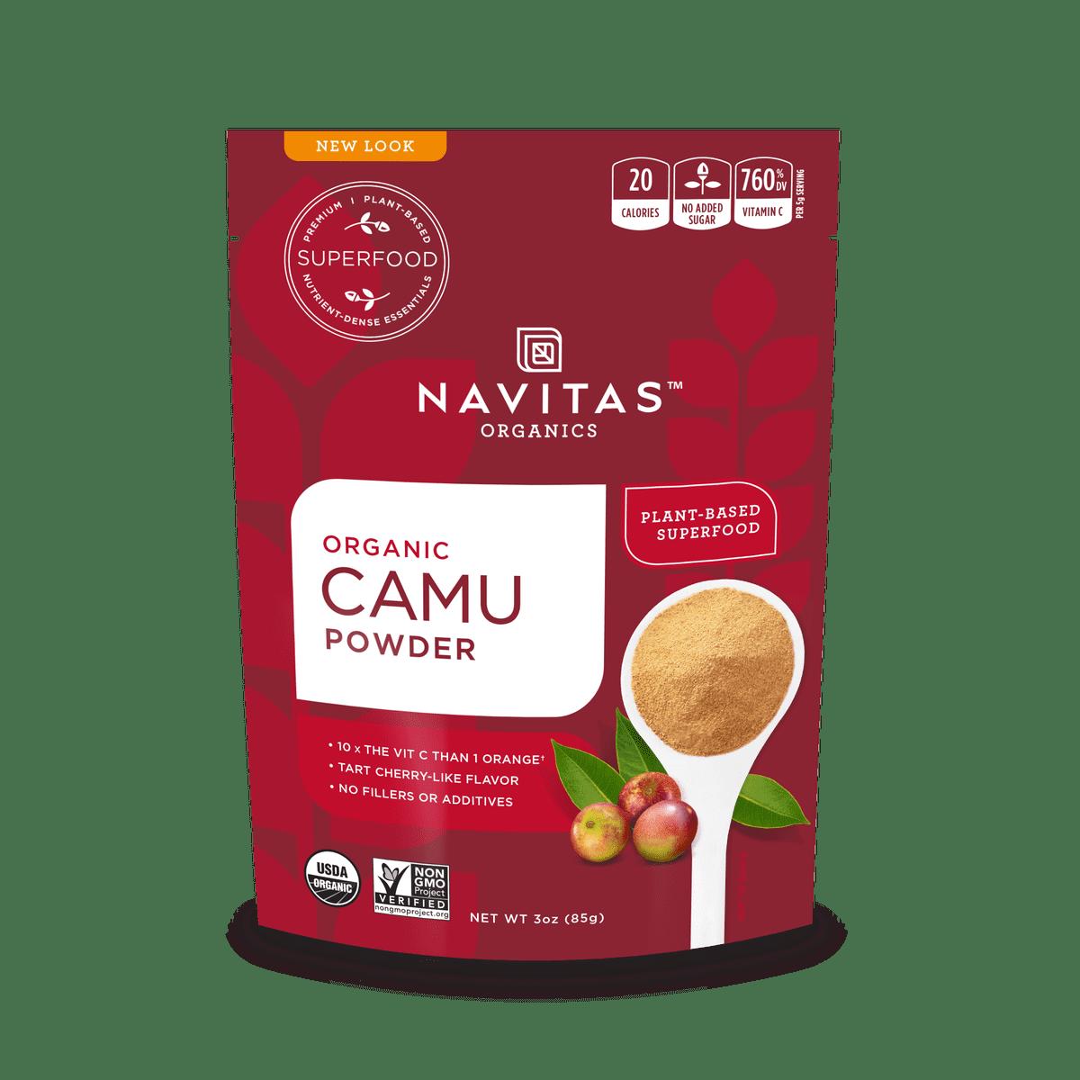 Navitas Organics Camu Camu Powder, 3.0 Oz, 17 Servings