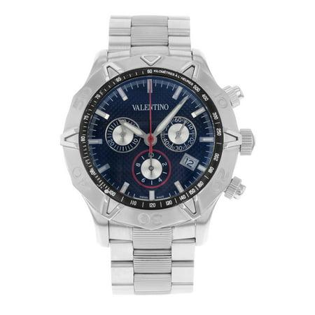 Pre-Owned Valentino  V40LCQ9909-S099 Stainless Steel Quartz Men's (Valentino Mens Watch)