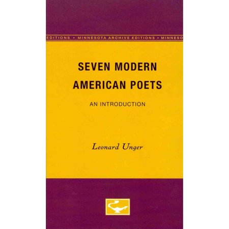 Seven Modern American Poets : An Introduction
