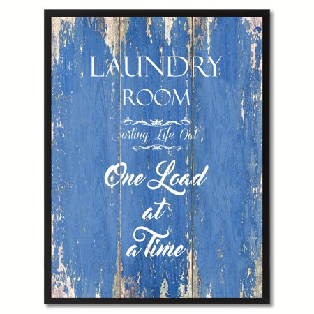 Laundry Room Sorting Life Out One Load At A Time Saying Canvas Print Picture Frame Home Decor Wall Art Gift Ideas](Galaxy Room Ideas)