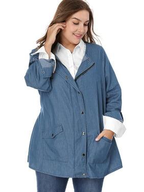 Women\'s Plus Jackets - Walmart.com - Walmart.com