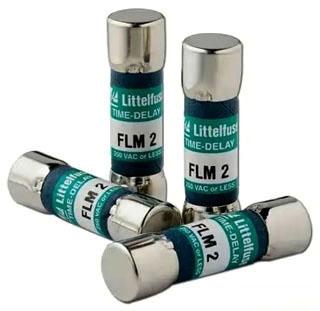 Littelfuse 0FLM005.T Midget Fuse, Time Delay, 250V, 5 Amp (Pack of 10)