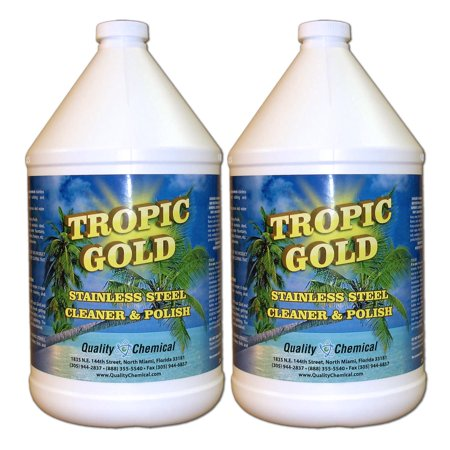Tropic Gold Stainless Steel Polish - 2 gallon