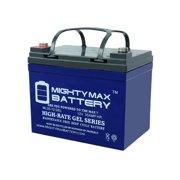 12v 35ah gel battery replacement for kangaroo tg-31 golf cart