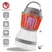 Outdoor Indoor Insect Trap Mosquito Killer Portable Fly Catcher UV Bug Light With Flashlight