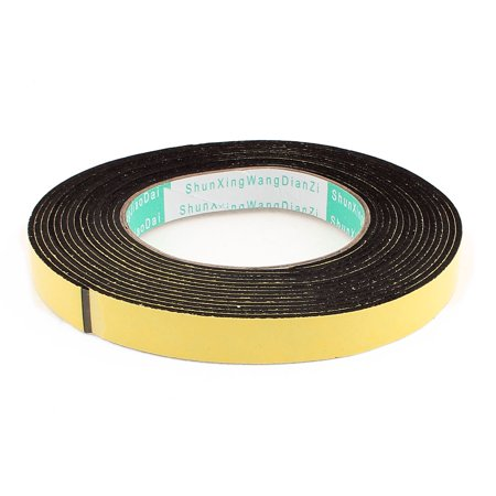 5 Meters 15mm x 2mm Single Side Adhesive EVA Foam Sealing