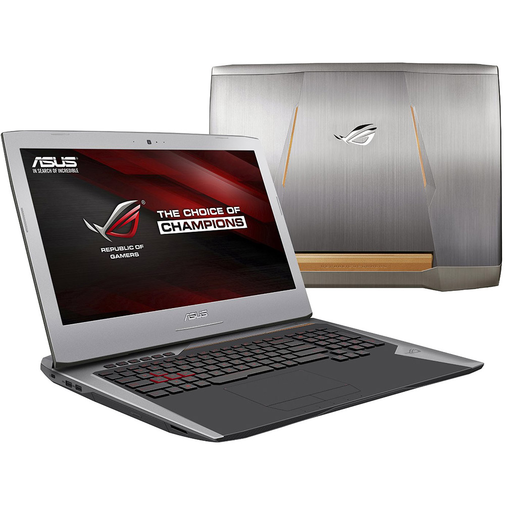 "ROG G752VL-DH71 17.3"" Notebook w/ Intel i7-6700HQ, 16GB RAM, 1TB HDD, Windows 10"