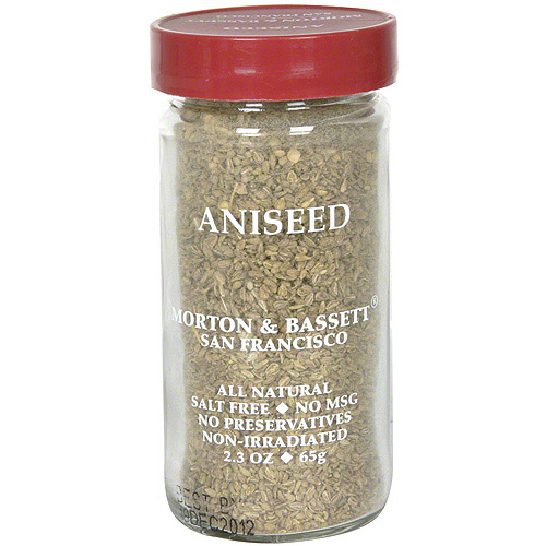 Morton & Bassett Spices Aniseed, 2.3 oz (Pack of 3)