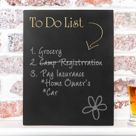 Cathys Concepts To Do List Chalkboard Sign - 11W x 14H in.