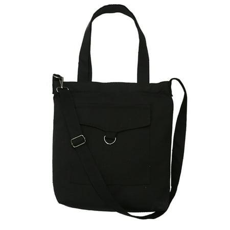 Handbag  Coofit Tote Simple Casual Canvas Handbag Shoulder Crossbody Bag Top Handle Bag For Women Girls Ladies