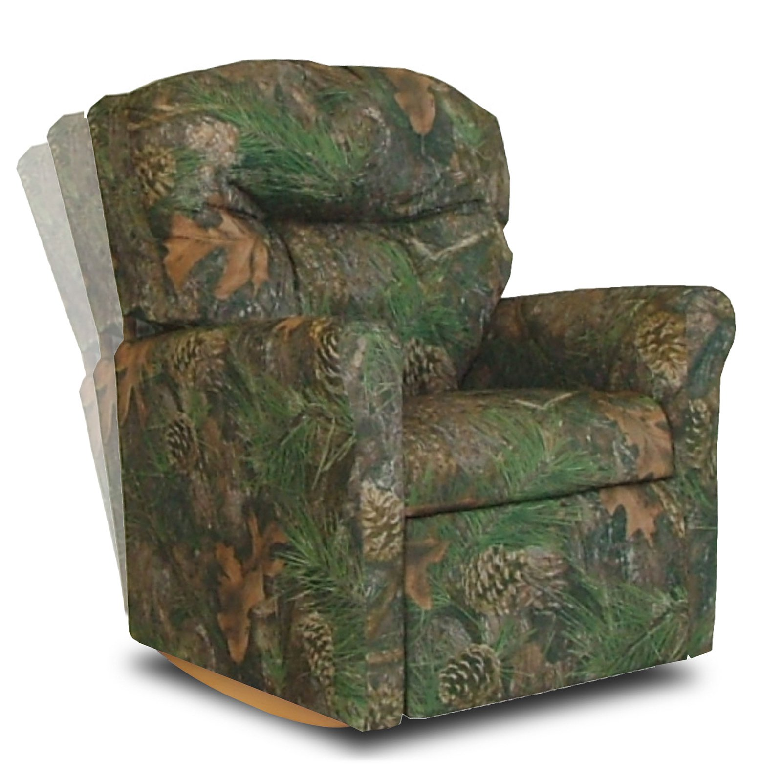 Contemporary Camouflage Child Rocker Recliner