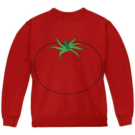 Halloween Fruit Vegetable Tomato Costume Youth Sweatshirt - Halloween Rotten Tomatoes