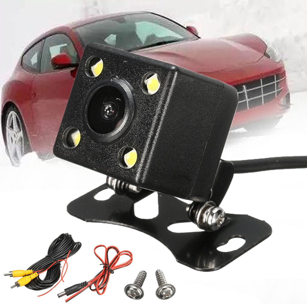 Car Rear View Camera Kit For Auto Single GPS 1 Din MP3/MP5 bluetooth Player