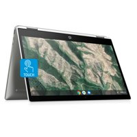 "HP X360 14"" Pentium Touch 4GB/128GB Chromebook, 14"" HD Touch Display, Intel Pentium Silver N5000, 4GB RAM, 128GB eMMC, Intel UHD Graphics 600, 14b-ca0061wm"