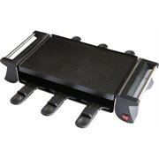 KitchenWorthy 290-6PDGS KitchenWorthy 6 Person Deluxe Raclette Grill