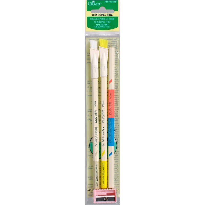 Chacopel Fine 3/Pkg-Assorted Colors