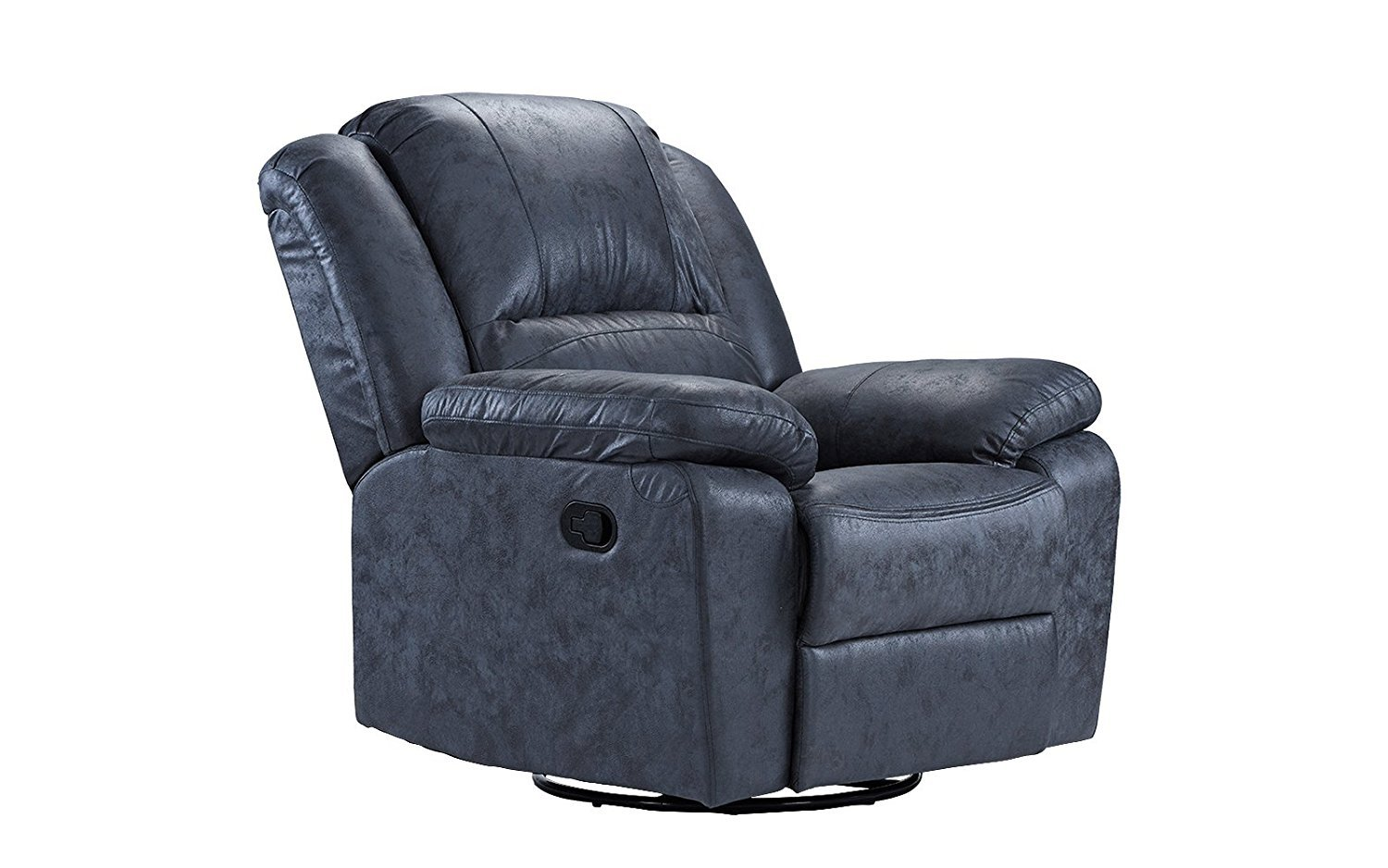 Oversize Ultra Comfortable Air Leather Fabric Rocker And