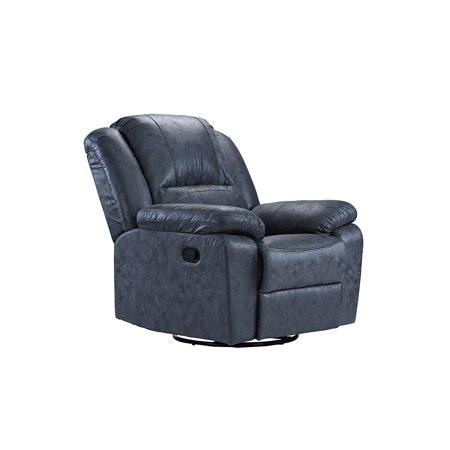 Prime Oversize Ultra Comfortable Air Leather Fabric Rocker And Swivel Recliner Living Room Chair Grey Pdpeps Interior Chair Design Pdpepsorg