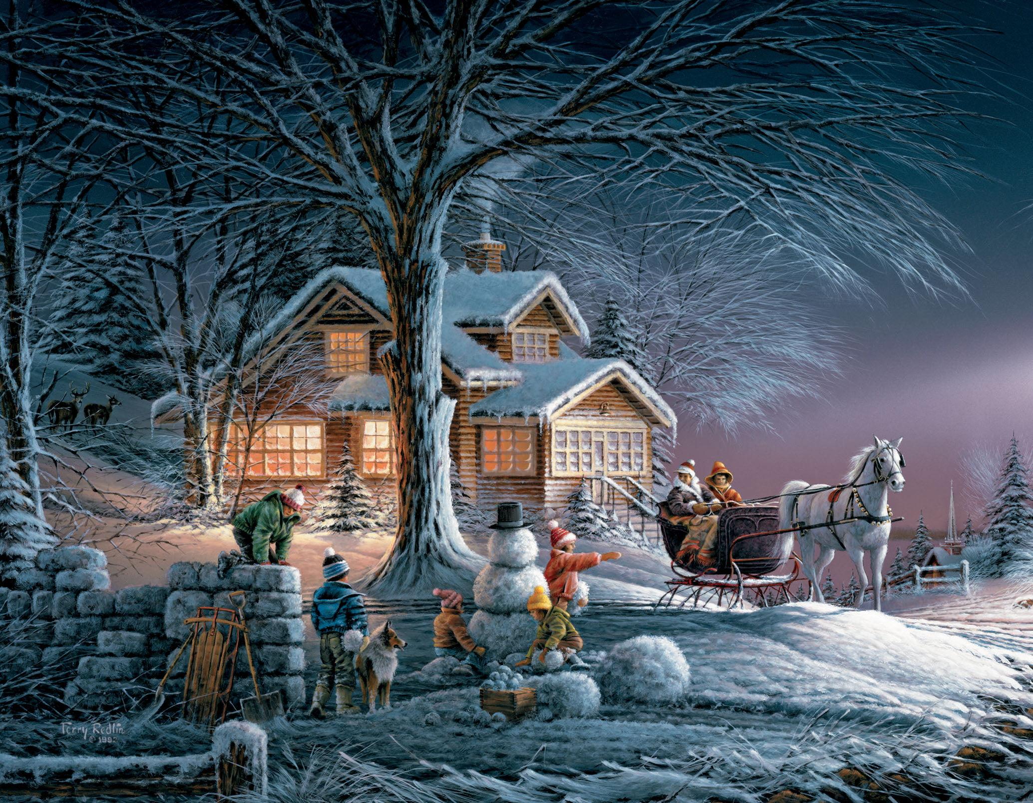 LANG WINTER WONDERLAND BOXED CHRISTMAS CARDS - Walmart.com