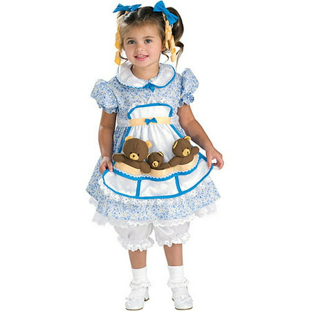 Goldilocks Toddler Halloween Costume