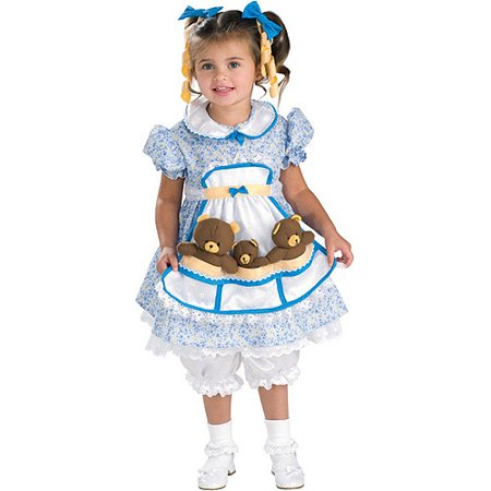 Goldilocks Toddler Halloween Costume 2T
