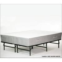 Foldable Metal Black Bed Frame, multiple sizes