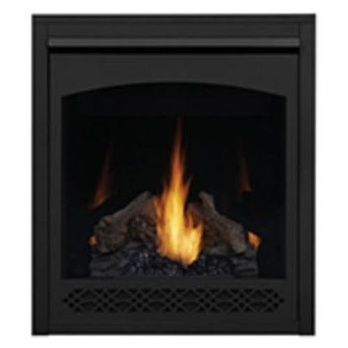 Heritage Decorative Front for B30 Fireplace - Black