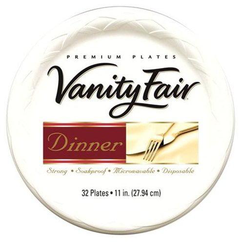 "Vanity Fair 11"" Paper Plates, 32ct"