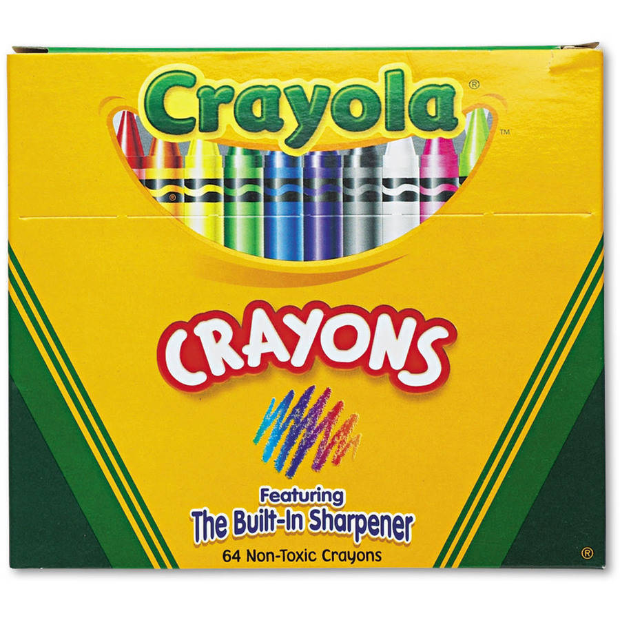 Crayola Classic Color Pack Crayons, 64 count