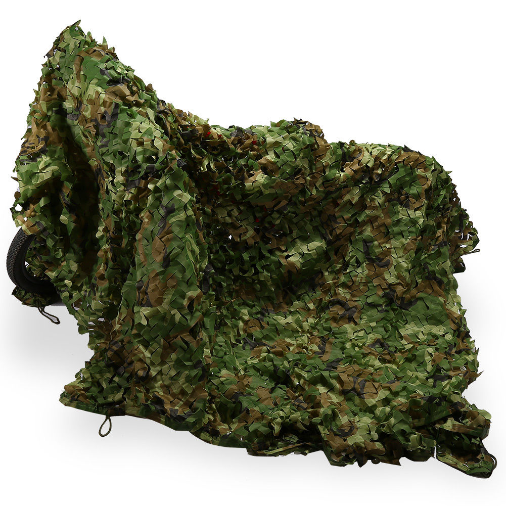 Woodland Camo Netting Camping Military Hunting Camouflage Net Multi Size