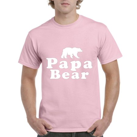 Papa Bear Men's Short Sleeve T-Shirt