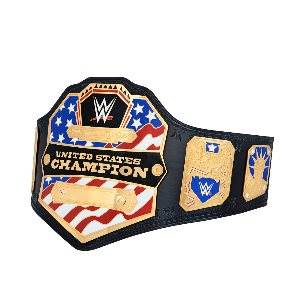 Official Wwe Authentic  United States Championship Commemorative Title Belt (2014)