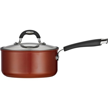 Tramontina Style 3-Quart Ceramic Nonstick Covered Sauce (Copper Oven Safe Saute Pan)