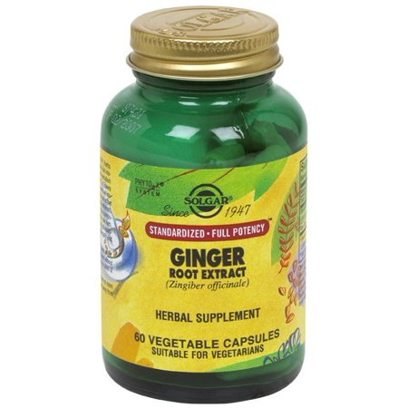 Lotus Root Vegetable (Solgar ginger root extract 60 vegetable capsules)