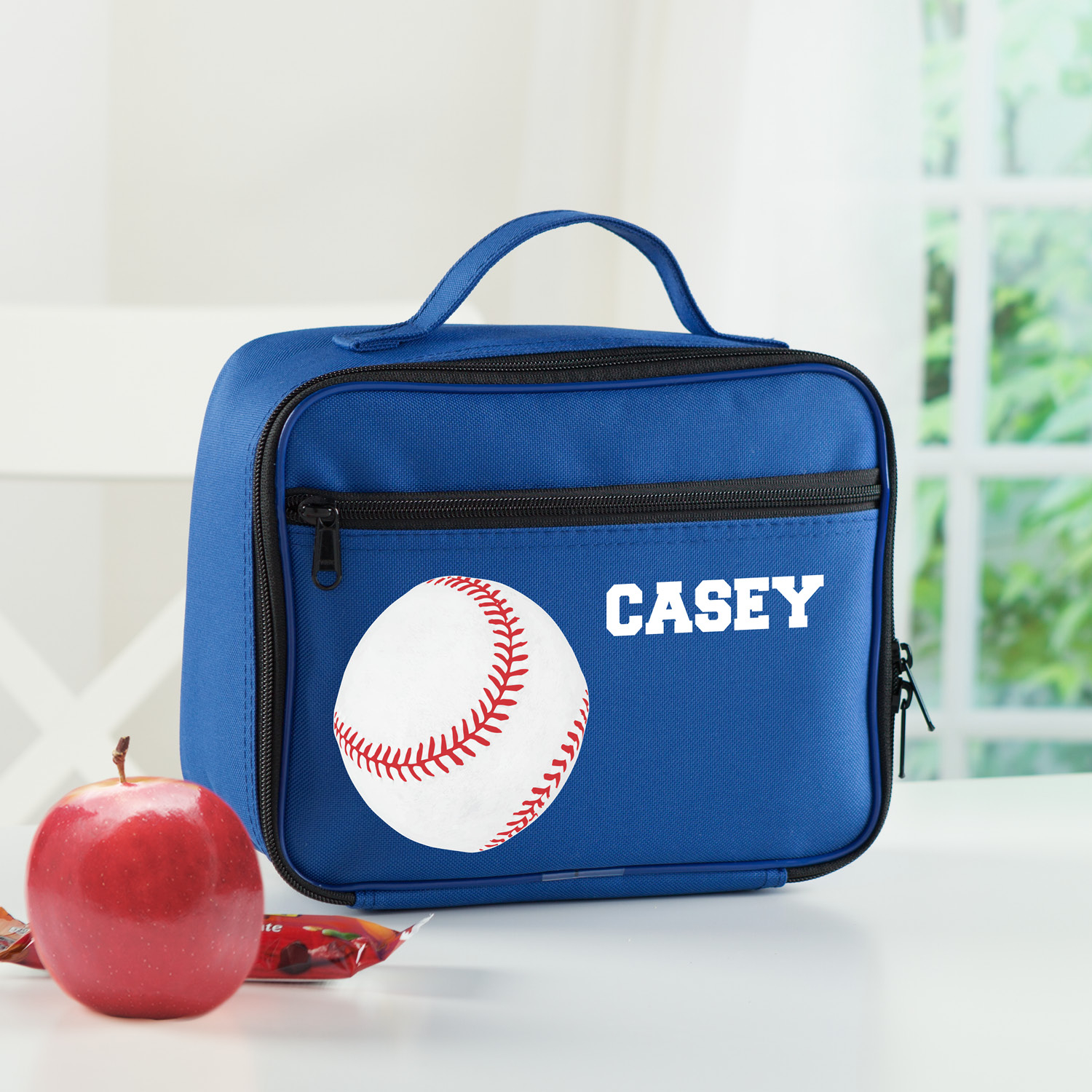 Baseball Star Personalized Lunch Bag
