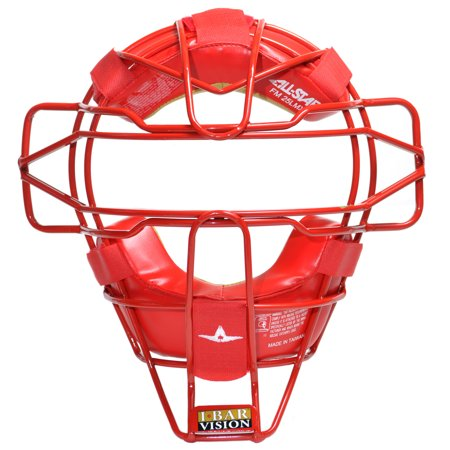 All-Star FM25LMX Red Traditional Lightweight Catcher's Face Mask Baseball