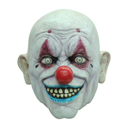 Crappy the Clown Mask Adult Halloween Accessory](Clown Halloween Entrance)