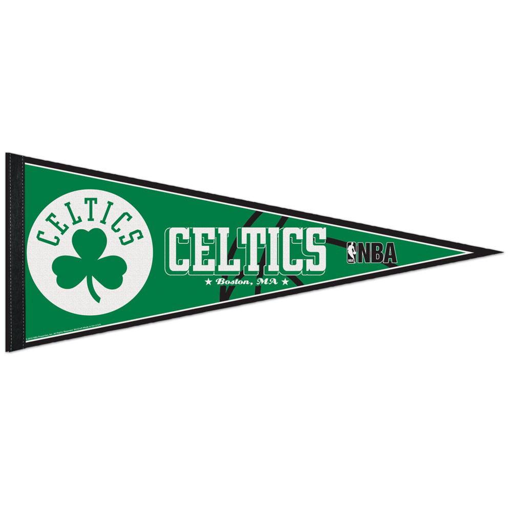 Boston Celtics Official NBA 12 inch x 30 inch  Felt Pennant by WinCraft