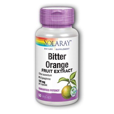 Bitter Orange Extract 120 mg By Solaray - 60  Capsules