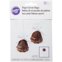 Wilton Treat and Cake Pops Bag Kit, 12-Count