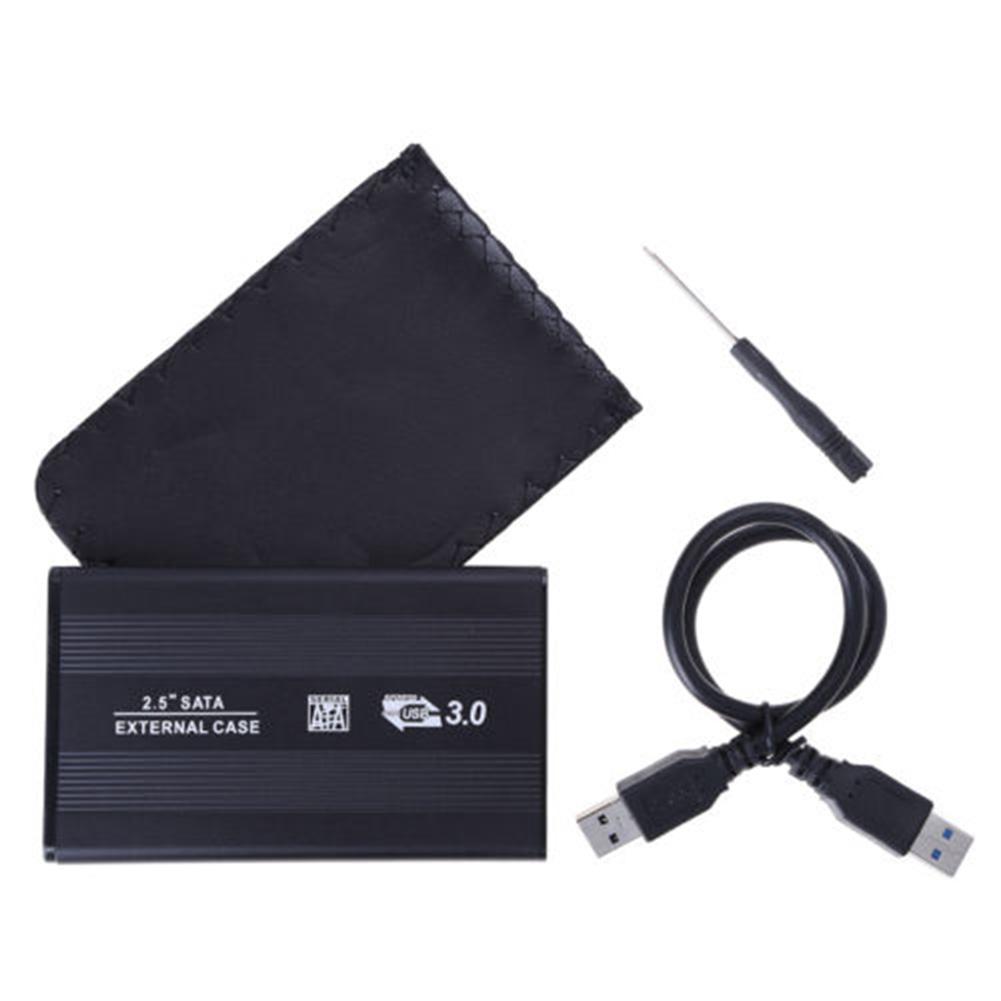 Girl12Queen USB 3.0 SATA 2.5 Inch Hard Drive External Enclosure HDD Mobile Disk Box Case