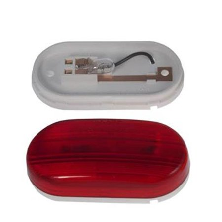 GROTE PERLUX 46702 Side Marker Light Universal Flat Mount Red