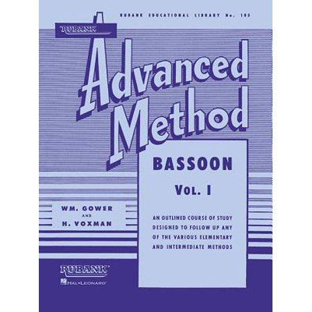 Miniature Bassoon (Rubank Advanced Method: Bassoon, Vol.)