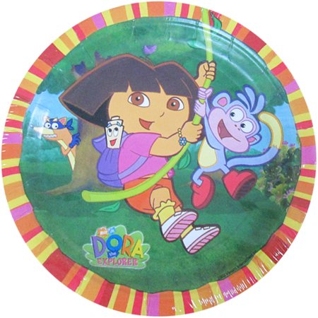 Dora the Explorer 'Fiesta' Small Paper Plates (8ct)